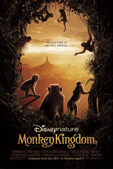Disney nature's Monkey Kingdom Review #MonkeyKingdom