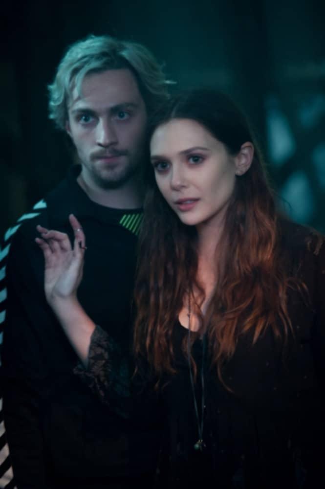 Avengers: Age of Ultron - Aaron Taylor-Johnson and Elizabeth Olsen #AvengersEvent