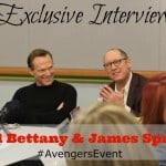 {Exclusive Interview} Paul Bettany and James Spader #AvengersEvent