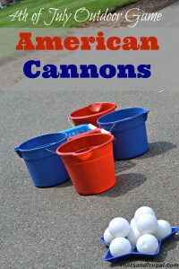 American Cannons - 4th of July Outdoor Game
