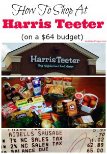 Are you a Harris Teeter shopper? Here are great tips to help you shop there on a budget, and without coupons.