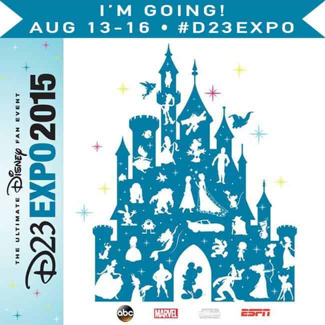 Follow 25 bloggers as they experience once in a lifetime events at D23 Expo 2015.
