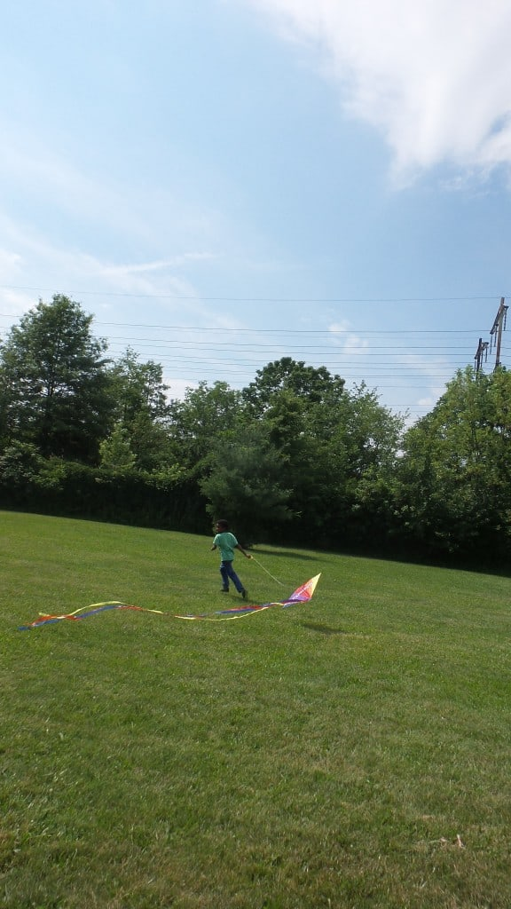 We're taking full advantage of the last days of summer by living it up, and flying a kite #CapriSunCrew Ad