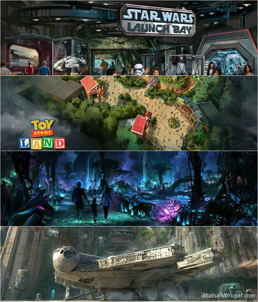 Star Wars Land, Toy Story Land and More at Disney Parks