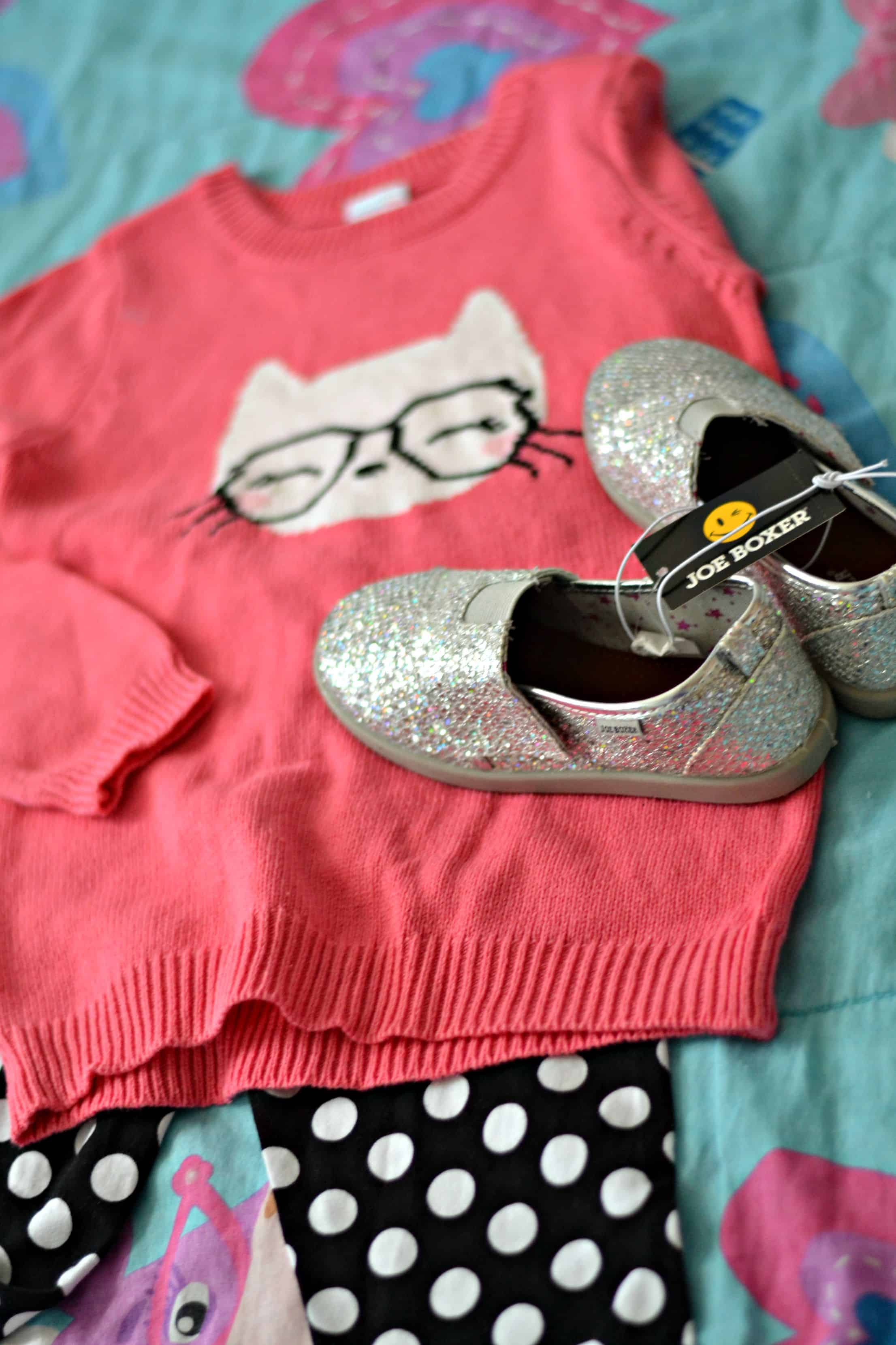 Mini Fashionista s Back To School Outfit 4 Hats and Frugal