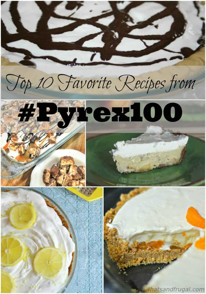 These delicious recipes from the #Pyrex100 celebration will make your mouth water! #sponsored