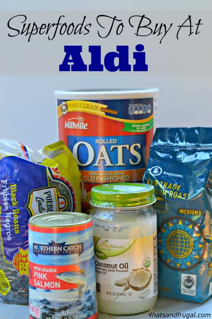 Superfoods to buy at Aldi