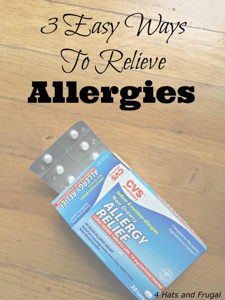 3 Easy Ways To Relieve Allergies Hero