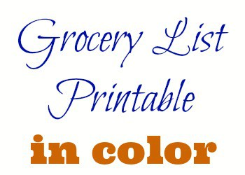 We love the pretty printables out there, but they use up a lot of expensive colored ink! Here are no frills meal planning printables to use instead!