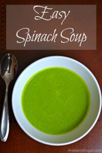 Looking for an easy spinach soup recipe? This one is done in less than 20 minutes, and can be made in the blender! #HolidayBox