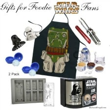 Gift ideas for the Star Wars foodies in your life.