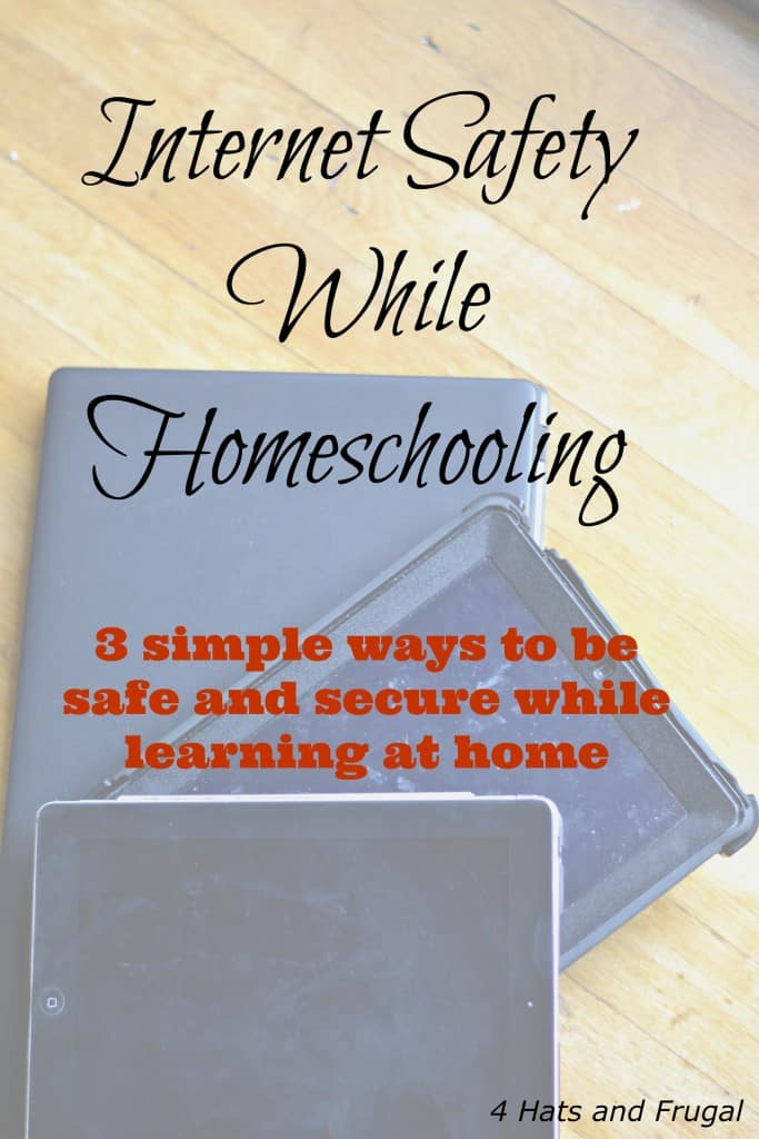 Internet Safety While Homeschooling hero