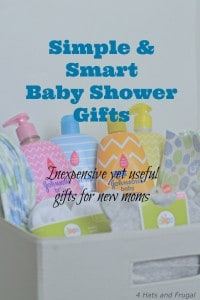 Looking for a great list of gifts for a new mom and baby? Check out these simple and smart baby shower gifts. #JohnsonsPartners Ad