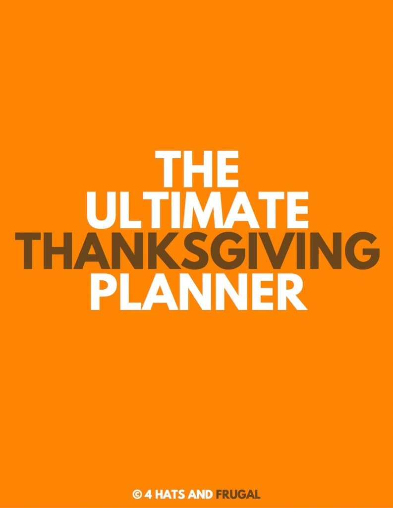 Looking to plan a great Thanksgiving this year? This FREE Ultimate Thanksgiving Planner will get your organized and ready for the holiday in no time!