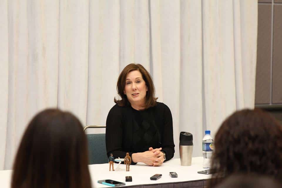 Exclusive interview with Kathleen Kennedy - STAR WARS: THE FORCE AWAKENS #StarWarsEvent