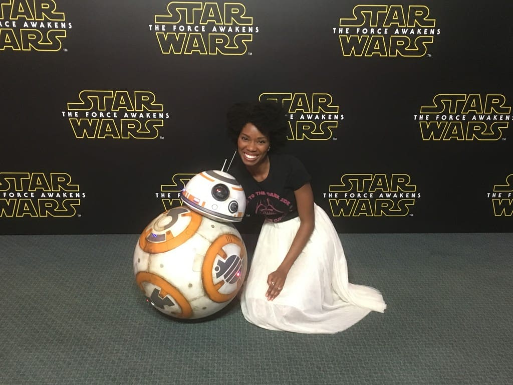 Behind the Scenes of STAR WARS: THE FORCE AWAKENS Press Event #StarWarsEvent