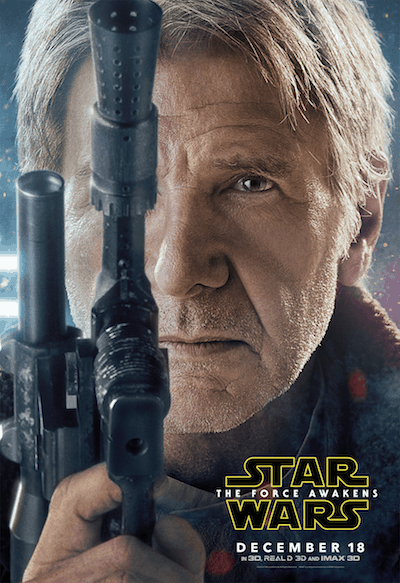 Read this exclusive Harrison Ford Interview for STAR WARS: THE FORCE AWAKENS, which took place during the #StarWarsEvent on Dec. 8th.
