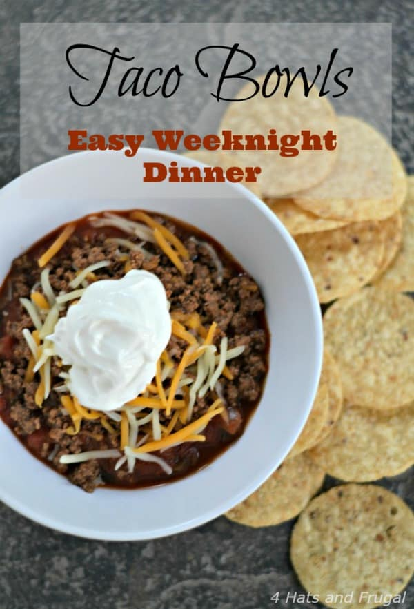 Taco Bowls - Easy Weeknight Dinner