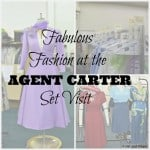 Fabulous Fashion at the AGENT CARTER Set Visit #ABCTVEvent