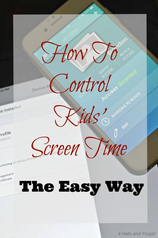 Are you a parent trying to figure out how to control kids' screen time, the easy way? This mom shares her secret. Spoiler: It's free and very simple.