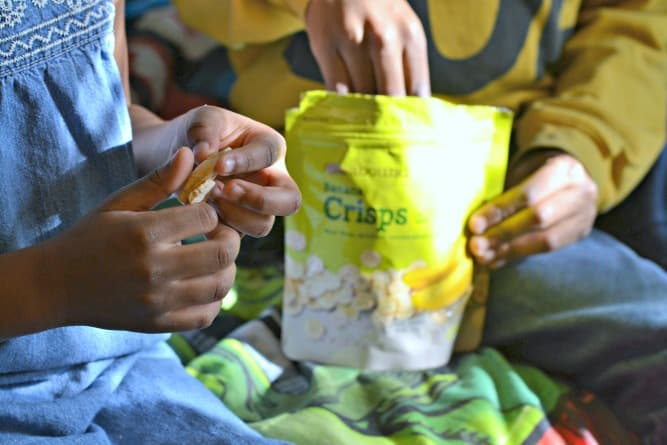 Do you have special snack rules for your family? This family shares what their rules are, and a secret snack that saves them lots of time. #CVSSpringSnacking #sponsored