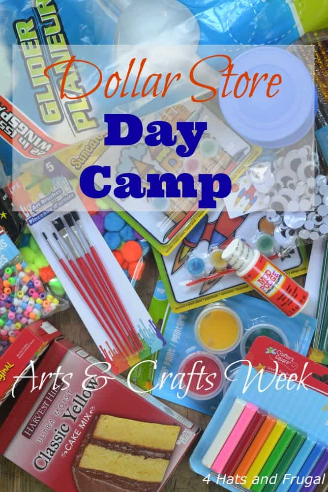 dollar store day camp week 2 arts and crafts 4 hats
