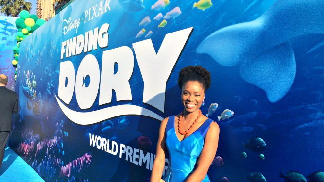 Finding Dory blue carpet