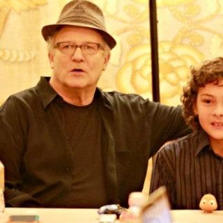 Hayden Rolence Albert Brooks Finding Dory