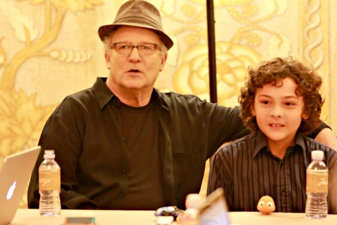 Hayden Rolence Albert Brooks Finding Dory