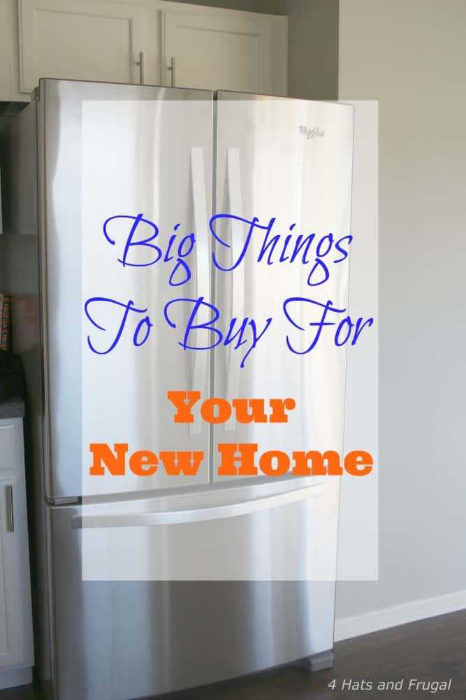 Big things to buy for your new home