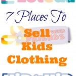 7 Places To Sell Kids Clothes