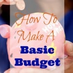 How To Make A Basic Budget