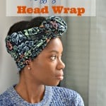 How To Wear Leggings as a Head Wrap