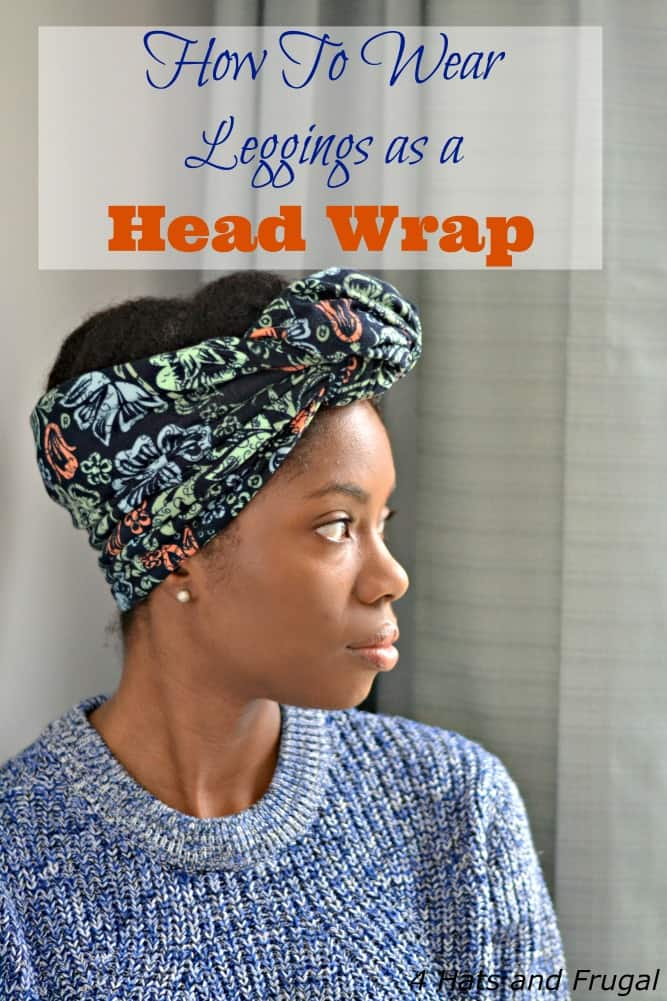How To Wear Leggings as a Head Wrap hero