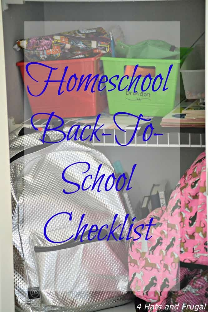 Our Homeschool Back-to-School Checklist copy 3