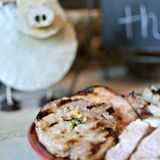 Honey Oregano Pork Chop