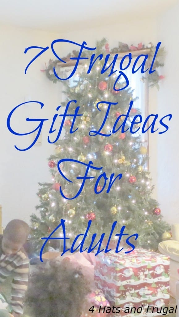Looking for inexpensive gifts for the adults in your life? Here are 7 frugal gift ideas for you!