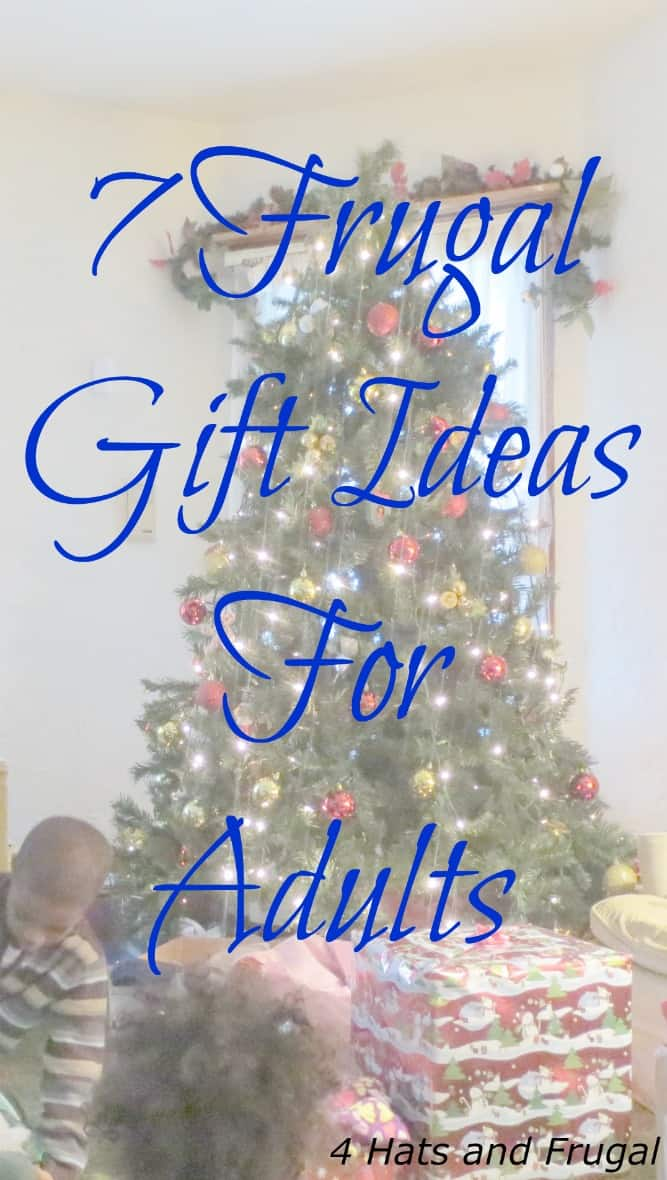 7 Frugal Gifts For Adults - 4 Hats and Frugal
