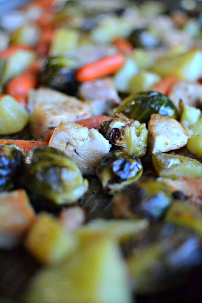 Easy Chicken Sheet Pan Dinner copy 2
