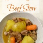 Simple Instant Pot Beef Stew