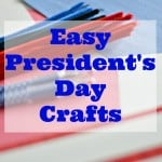 Easy Presidents Day Crafts
