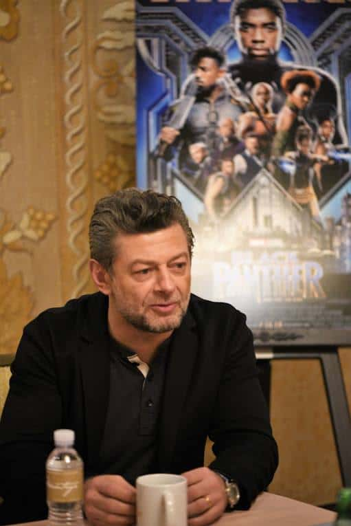 Andy Serkis and Winston Duke - Black Panther Villains