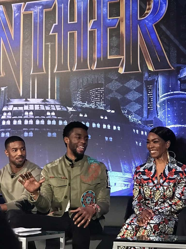 Black Panther Press Conference 2018 1