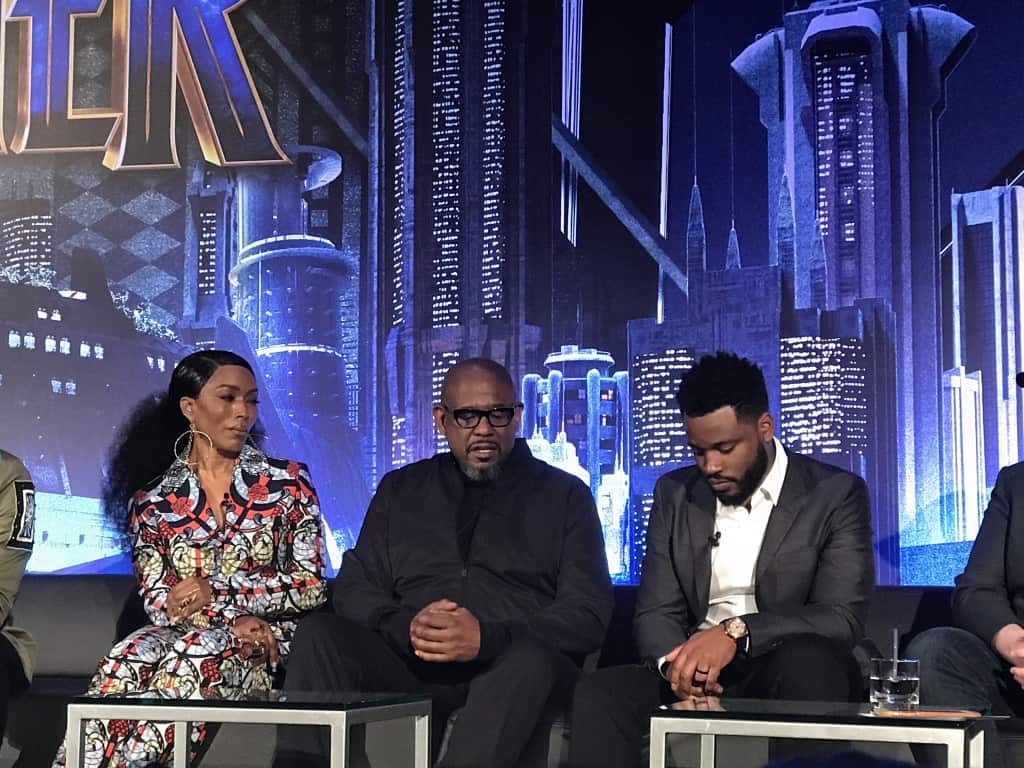 Black Panther Press Conference 2018