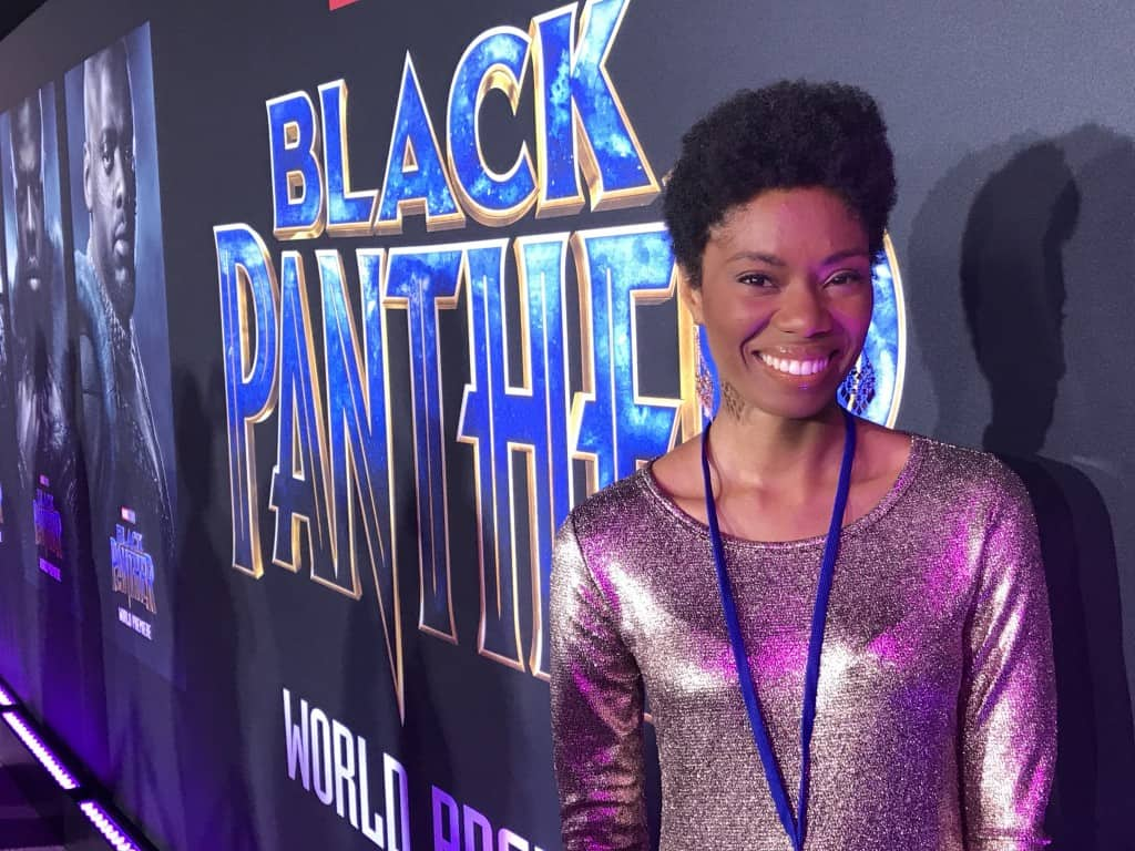 Behind the scenes look at the Black Panther red carpet and premiere!
