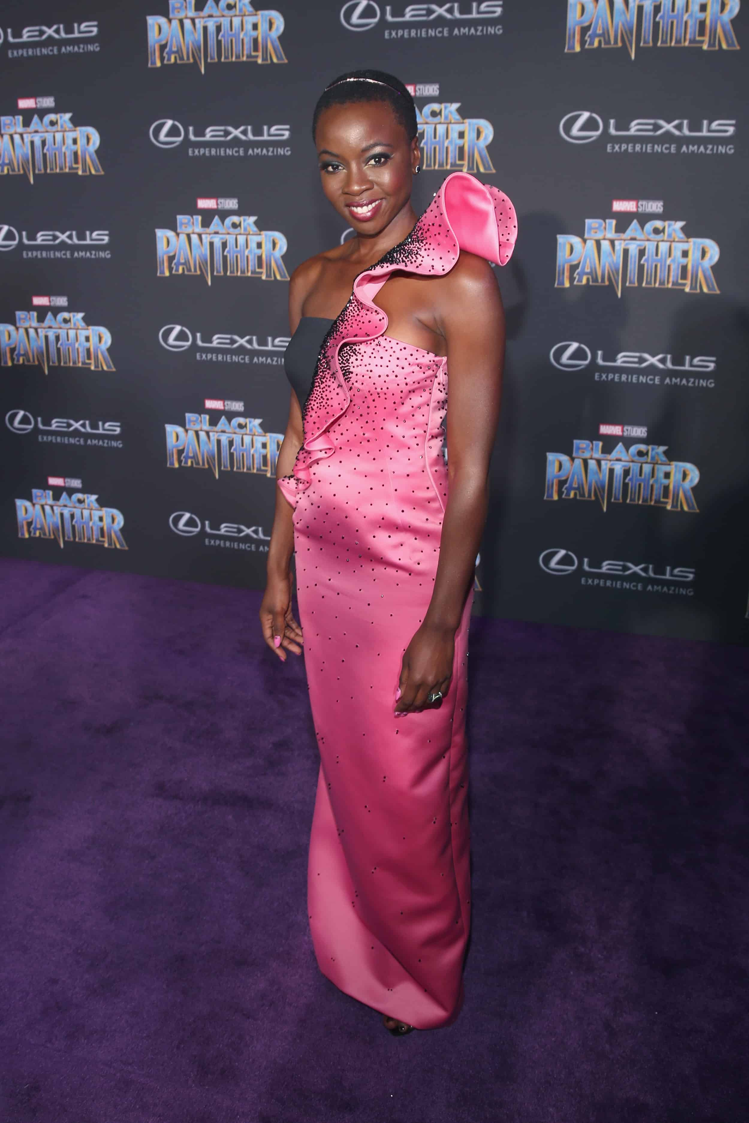 Fun On The Black Panther Red Carpet Blackpantherevent 4