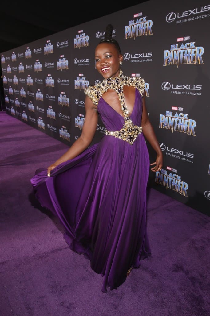 Fun on the Black Panther Red Carpet
