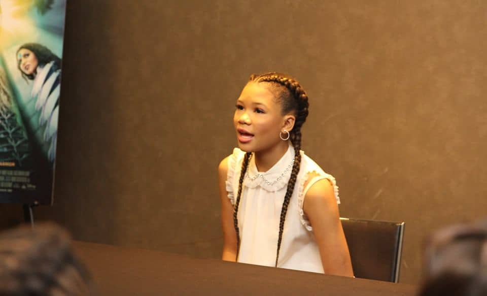 Profound Words from A Wrinkle In Time's Storm Reid
