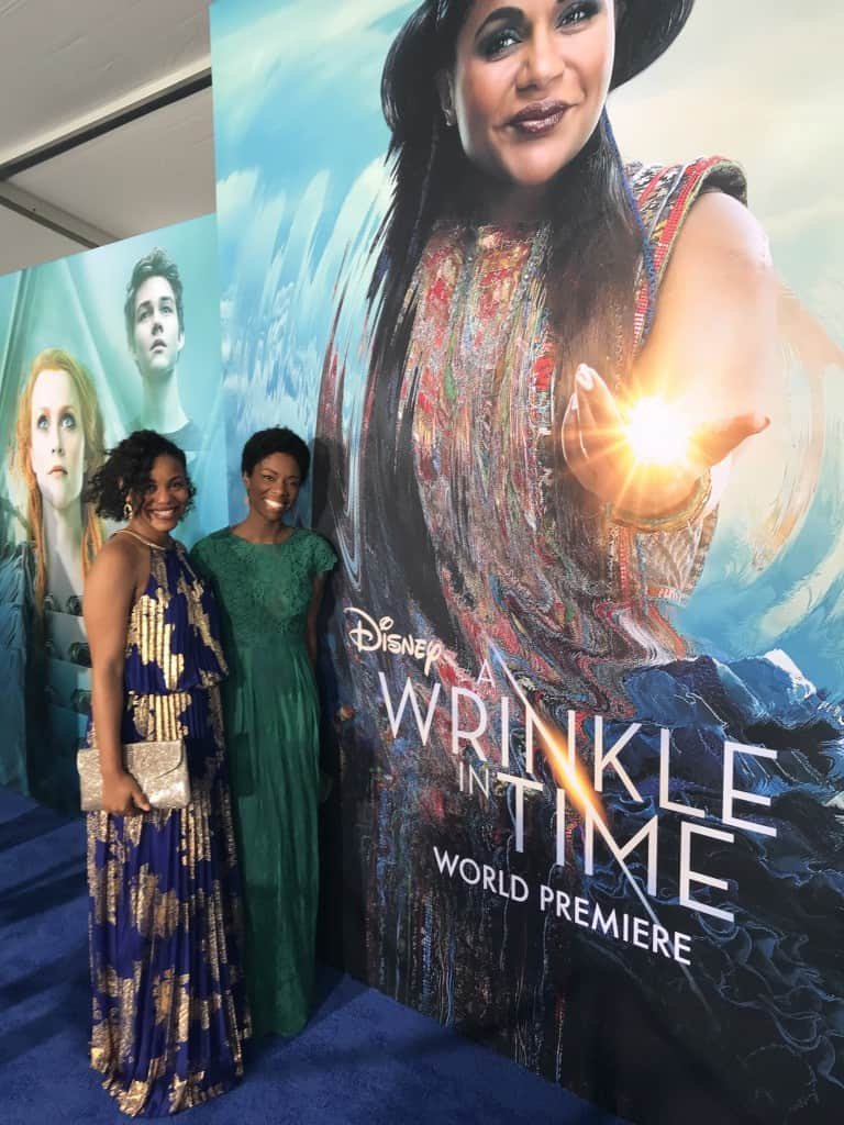 A Wrinkle In TIme premiere Amiyrah Martin Brandi Riley