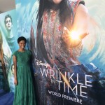 Elegance and Grace at A Wrinkle In Time Red Carpet